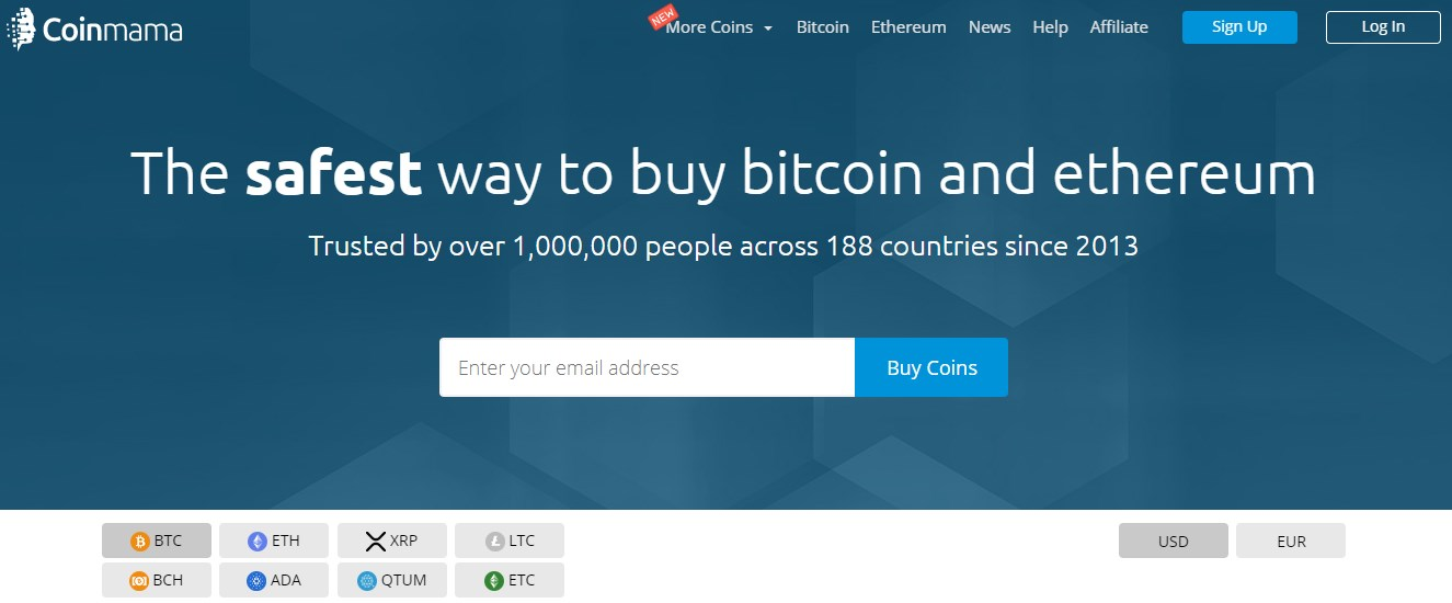 top places to buy cryptocurrency